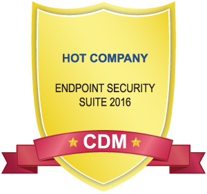 CDM Award - Hot Company in Endpoint Security