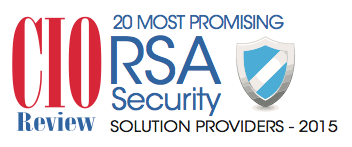 CIO Review Most Promising RSA Security Award 2015